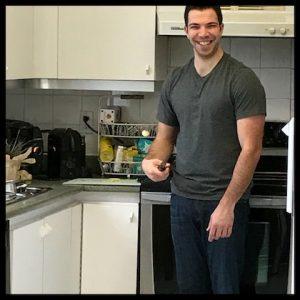 son, kitchen